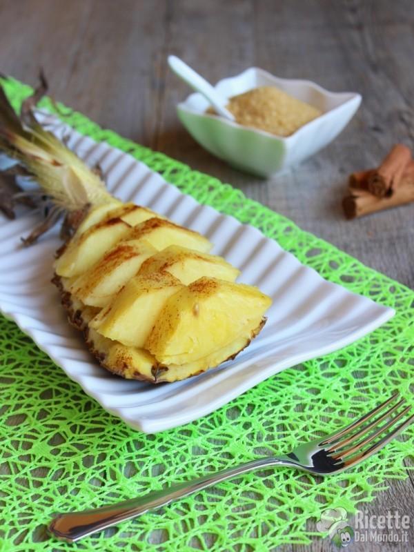 Come fare l'ananas al forno
