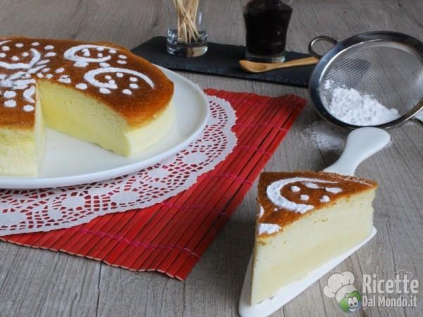 Ricetta japanese cotton-soft cheesecake