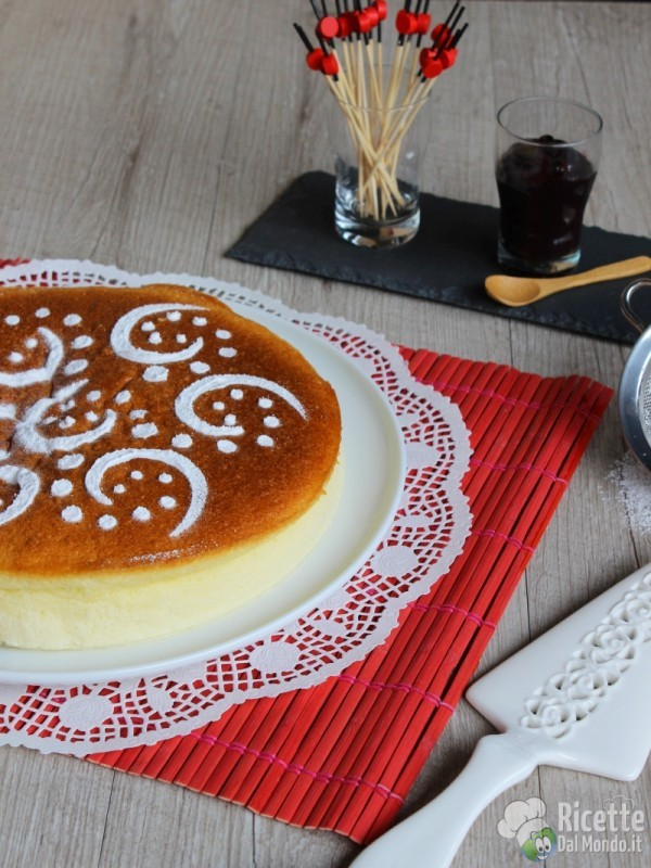Come fare il japanese cotton-soft cheesecake