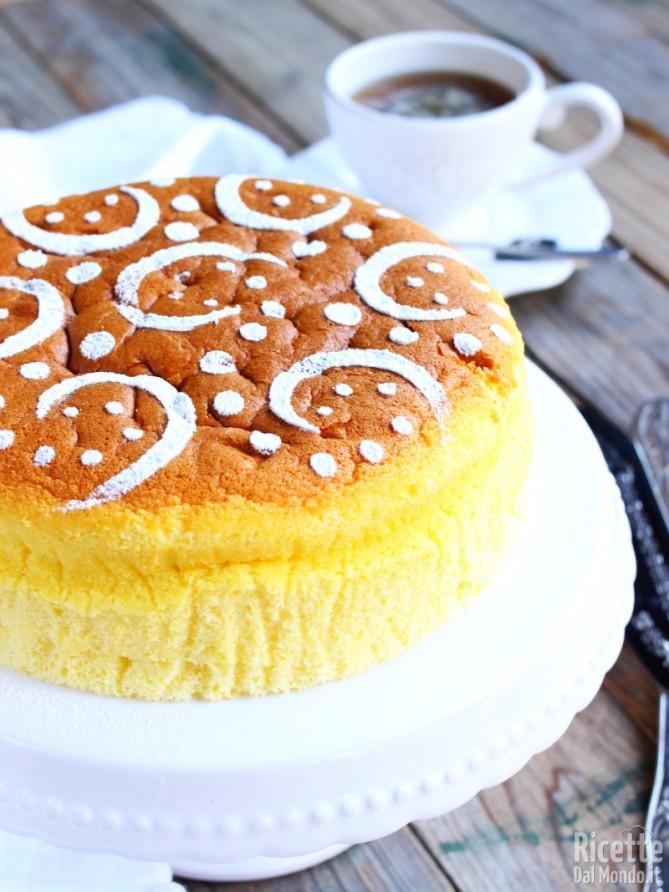 Japanese cheesecake 6