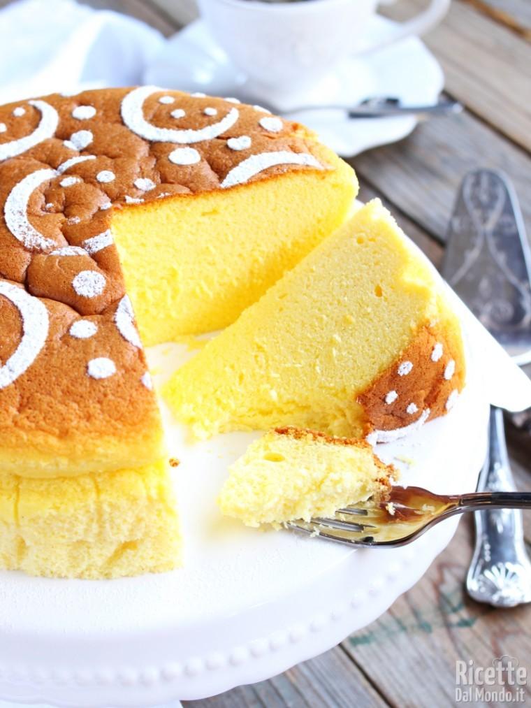 Japanese cheesecake 7