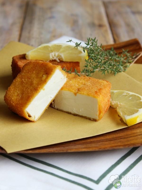 Come fare il saganaki - feta fritta