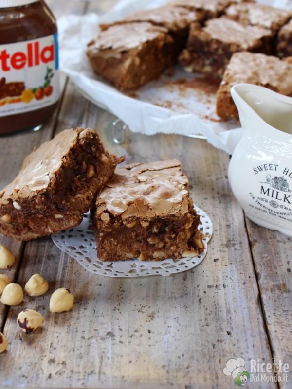 Come fare i brownies alla Nutella