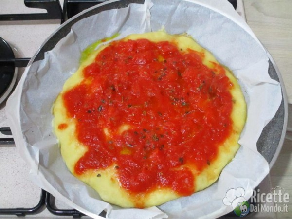 Pizza cotta in padella 8