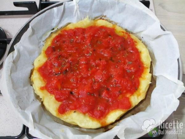 Pizza cotta in padella 9
