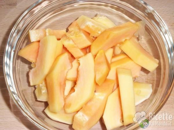 Come tagliare la papaya 13