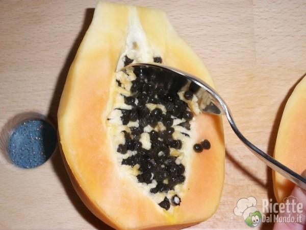 Come tagliare la papaya 8