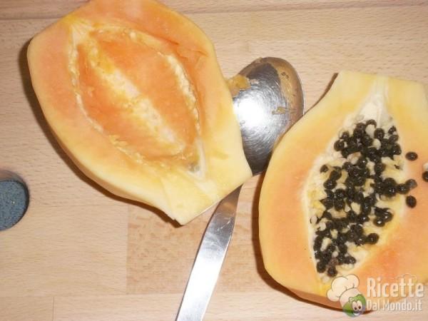 Come pulire e tagliare la papaya 9
