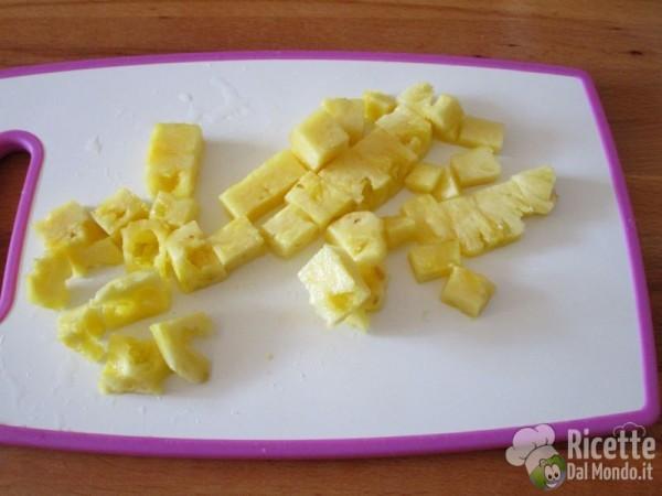 Riso fritto ananas e anacardi 5