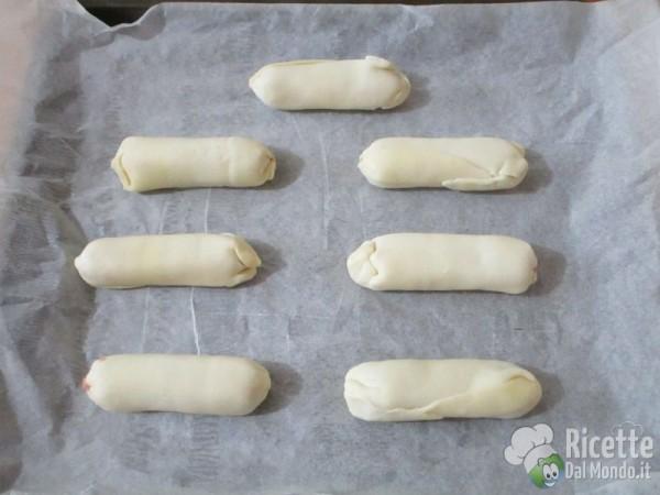 Ricetta di pasta sfoglia con salsiccia