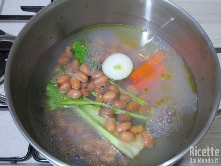 Pasta con i fagioli 4