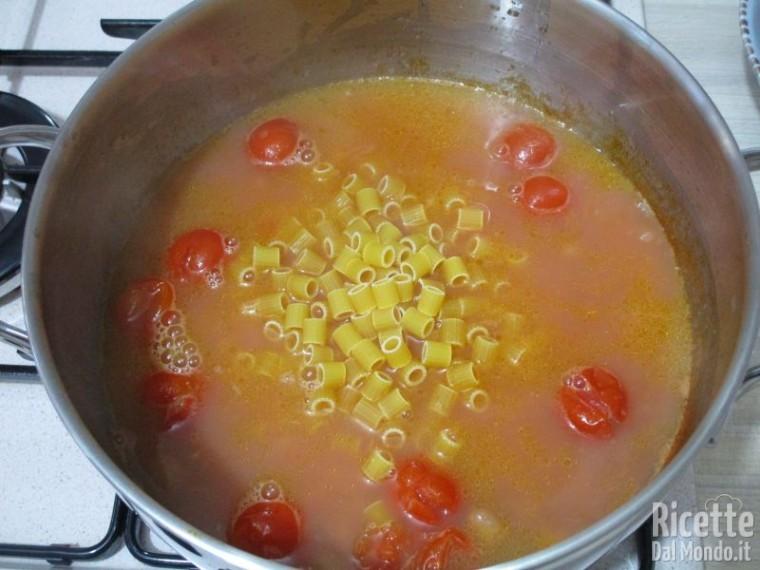 Pasta con i fagioli 6