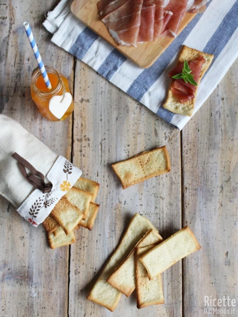 Ricetta crackers con esubero di pasta madre
