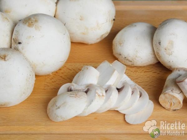 Come pulire i funghi champignon 9