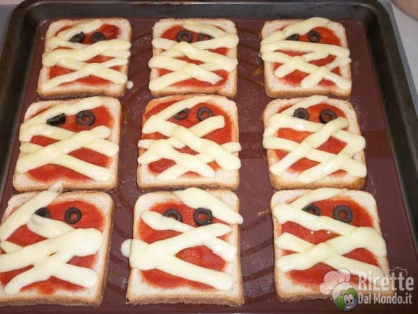 Pizzette mummia 6