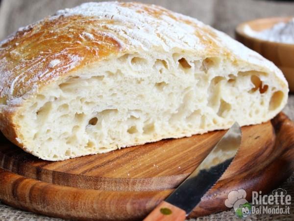 Ricetta pane senza impasto