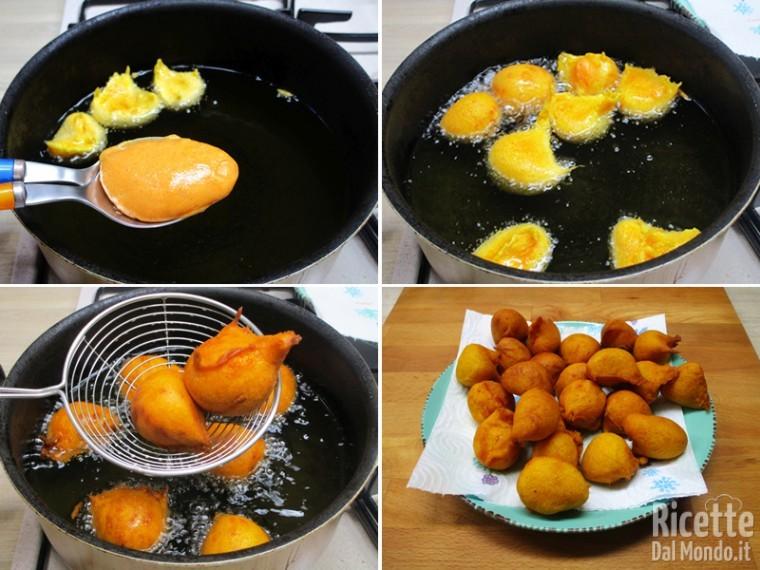 Frittelle di zucca dolci 5