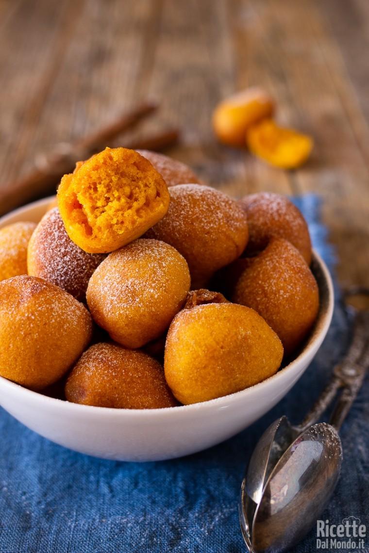 Frittelle di zucca dolci 7