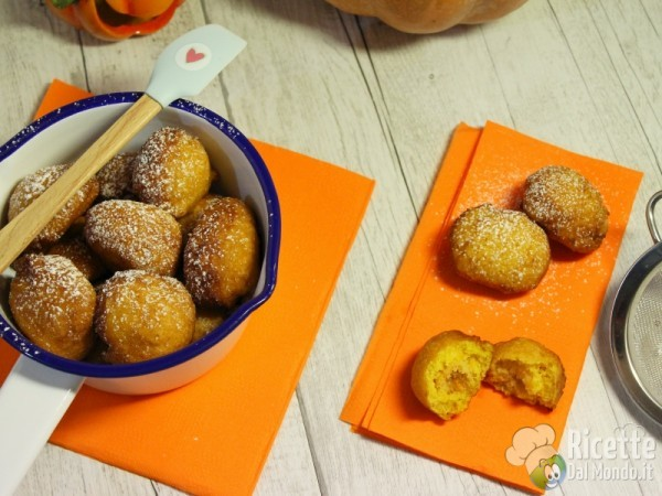 Frittelle di zucca dolci 12