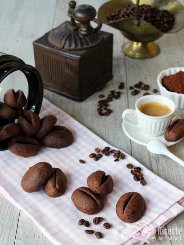 Come fare i biscotti chicco di caffè