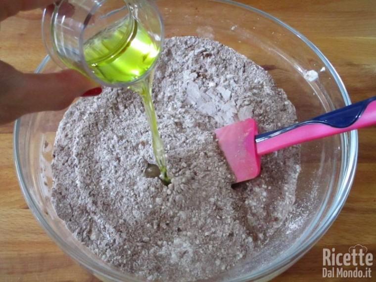 Torta al cioccolato senza lattosio e uova 4