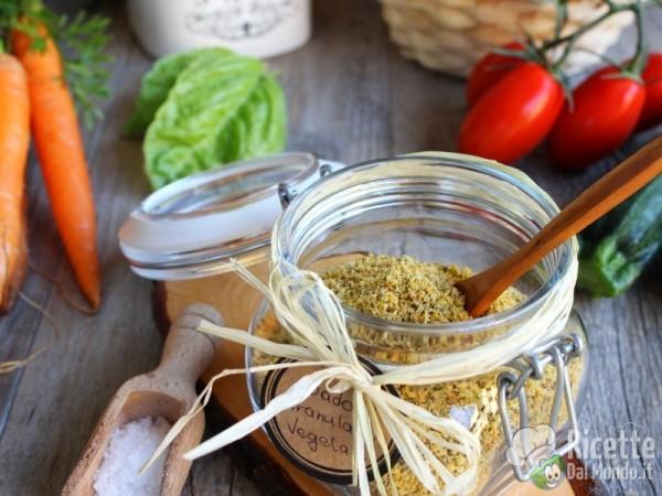 Dado granulare vegetale