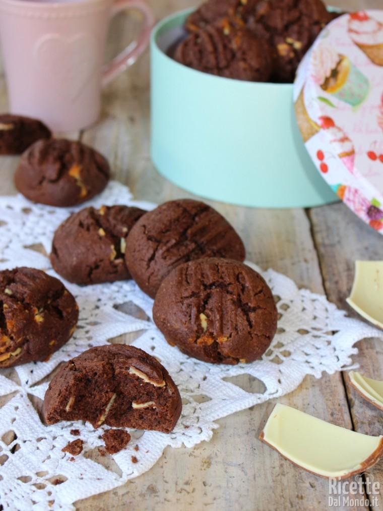 Come fare i biscotti al cioccolato Kinder