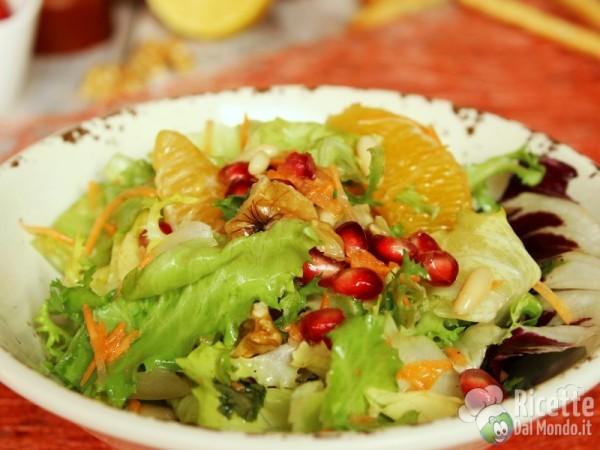 Ricetta insalata agli agrumi