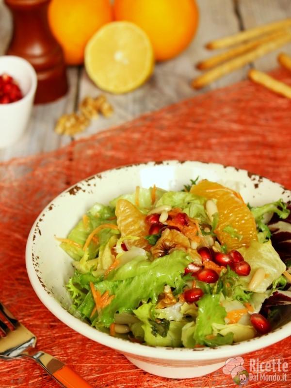 Come fare l'insalata agli agrumi
