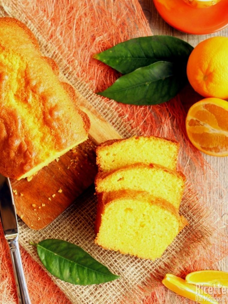 Come fare il plumcake all'arancia
