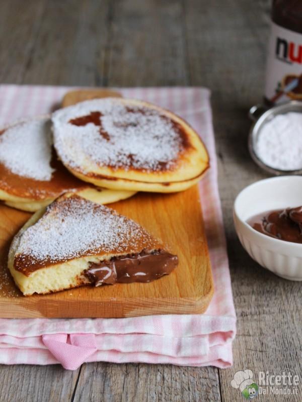 Come fare i pancakes alla Nutella