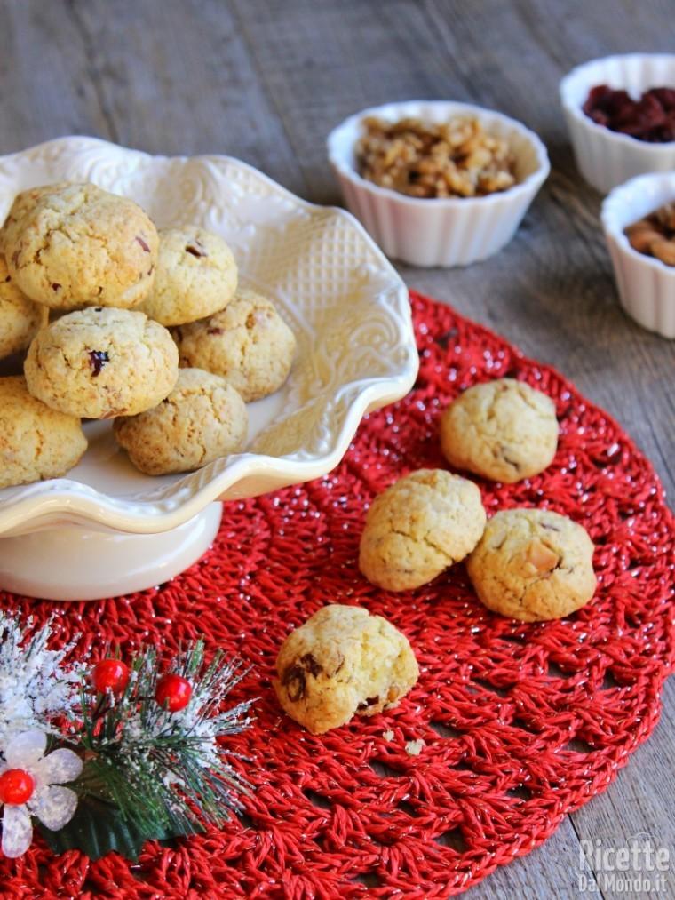Come fare i biscotti con frutta secca