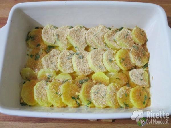 Merluzzo con patate al forno for Ricette culinarie