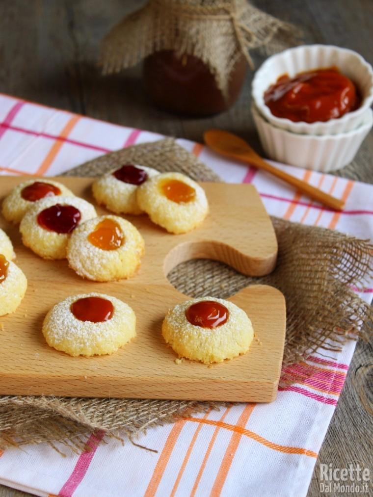 Ricette dolci biscotti con marmellata