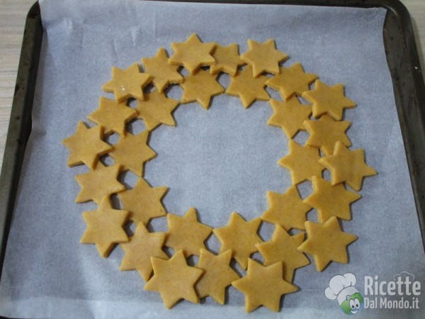 Ghirlanda di biscotti 8