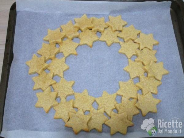 Ghirlanda di biscotti 9