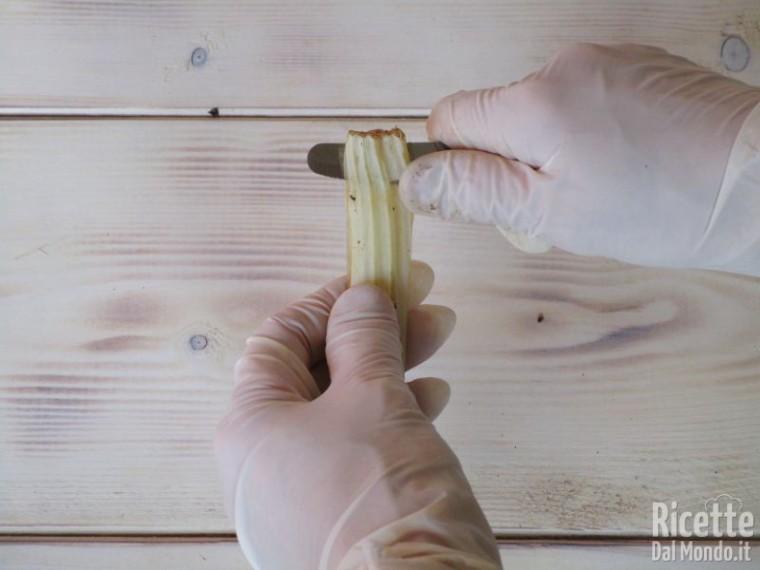 Come pulire il cardo 8