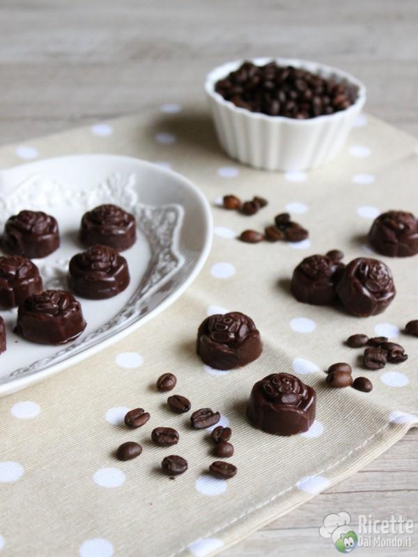 Come fare i cioccolatini al caffè