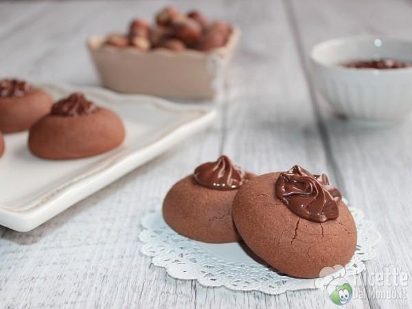 Nutellotti - biscotti alla Nutella