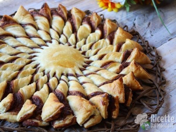 Ricetta torta pasta sfoglia con nutella