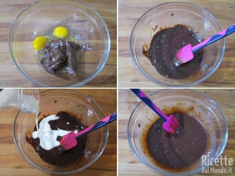Muffin nutelotti 2