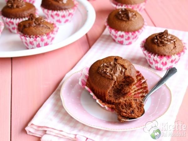 Nutellotti muffin farciti