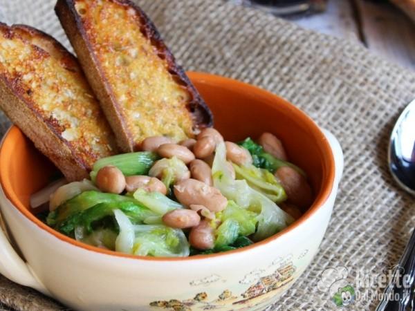 Ricetta zuppa di scarole e fagioli