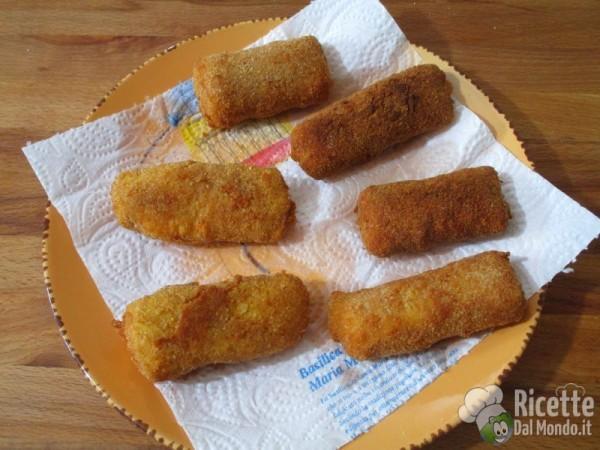 Molto Bastoncini di pesce fatti in casa | RicetteDalMondo.it YH96