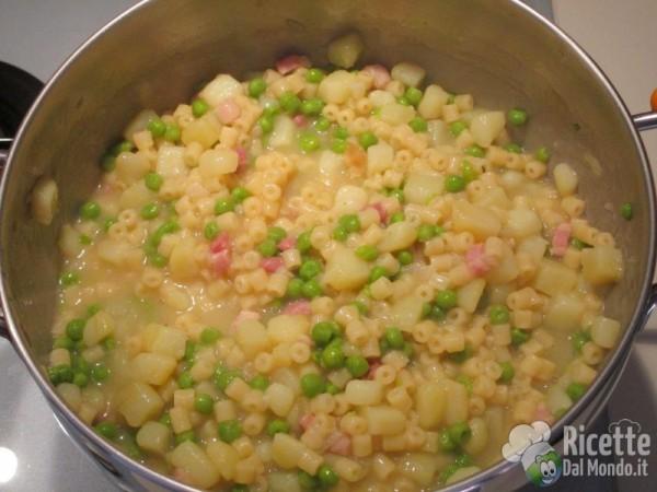 La ricetta di pasta e patate