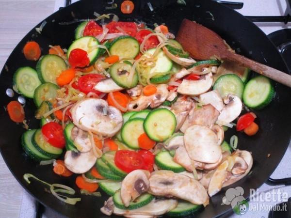 Lasagne di verdure vegetariane 5
