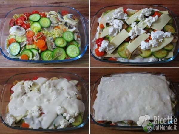 Lasagne vegetariane 8