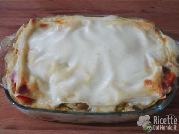 Lasagne di verdure vegetariane 9