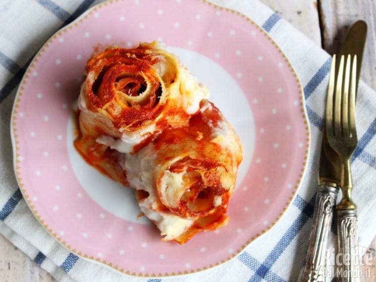Rose di lasagne al forno