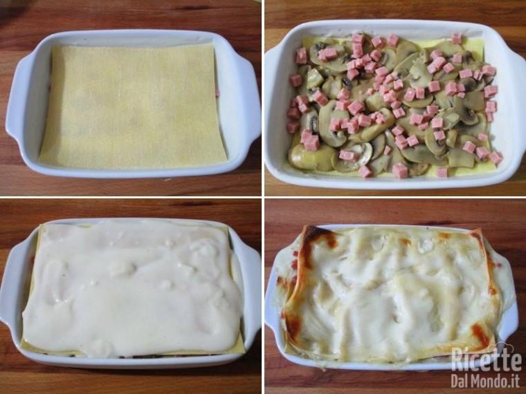 Lasagne ai funghi 6
